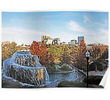 Columbia Skyline From Finlay Park Poster