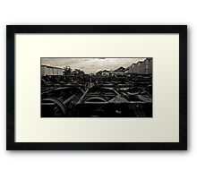 Wheels In Time Framed Print