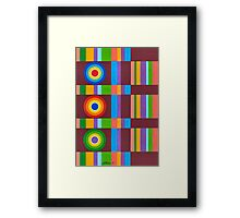 Figuratie Artwork - Brush And Gouache Framed Print