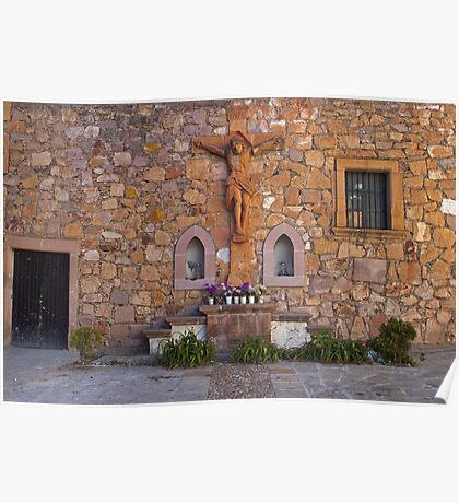 Templo de Jesus, Zacatecas, Mexico. Poster