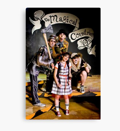 Wizard of Oz-17 Canvas Print
