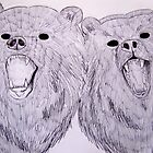 Two Headed Bear by AshleyCatherine