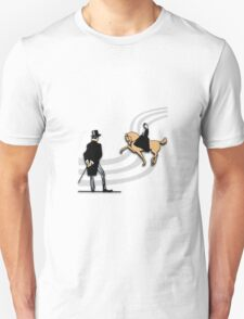 Top Hat and Tails Unisex T-Shirt