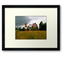 Abandoned Barn Framed Print