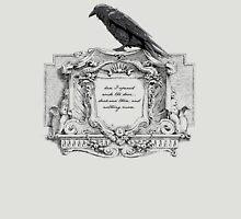 Edgar Allan Poe and Raven Unisex T-Shirt