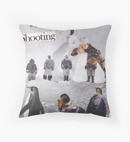 Irresistible Shooting  Throw Pillow