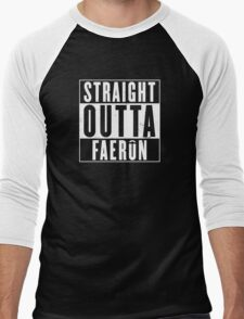 Straight Outta Faerun Men's Baseball ¾ T-Shirt