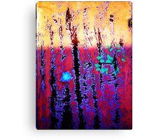 atom decays Canvas Print