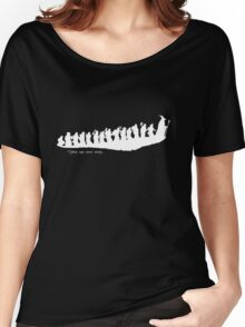 The Hobbit - There and back again... Silhouette T-Shirt Women's Relaxed Fit T-Shirt