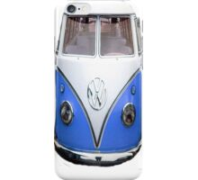 VW Blue iphone Case iPhone Case/Skin