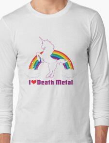 I LOVE DEATH METAL Long Sleeve T-Shirt