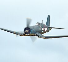 Goodyear FG-1D Corsair at Omaka by Barry Culling