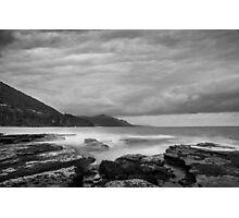 Coalcliff Cloudy Dawn Photographic Print
