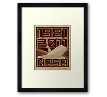 NASA  1981-2011 Framed Print
