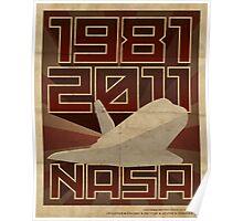 NASA  1981-2011 Poster