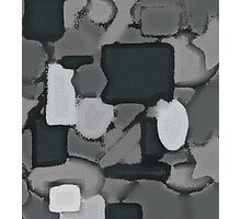 Grey Coulage Photographic Print