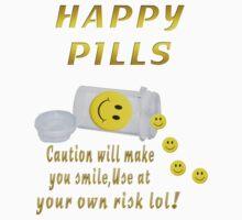 (◡‿◡✿) (◕‿◕✿) HAPPY PILLS TEE SHIRT~DON'T WORRY B HAPPY!! (◡‿◡✿) (◕‿◕✿) by ✿✿ Bonita ✿✿ ђєℓℓσ