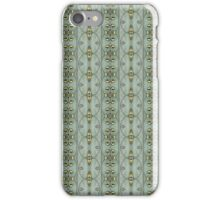 Victorian Golden Leaves #1 iPhone Case/Skin