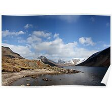 Wasdale Lake in Autumn Poster