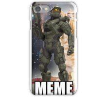 Master Chief Meme shirt iPhone Case/Skin