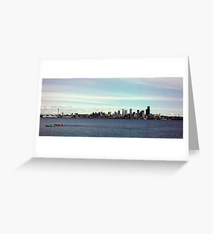 Alki Beach (Wa) Greeting Card