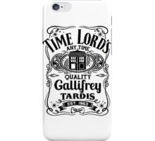Who Gallifrey Police Box iPhone Case/Skin