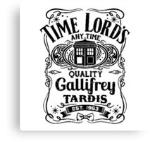 Who Gallifrey Police Box Canvas Print