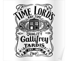 Who Gallifrey Police Box Poster