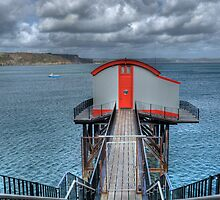 Tenby Lifeboat House 5 by Steve Purnell