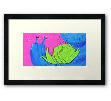 Do Hug Mummy Framed Print