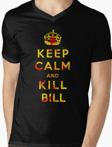 Keep Calm and Kill Bill Mens V-Neck T-Shirt