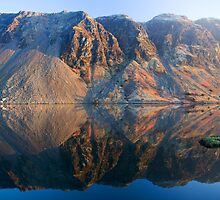 Wasdale Lake Screes 2 ~ January 2010 by Jan Fialkowski