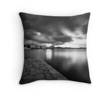 Zadar b&w XII Throw Pillow