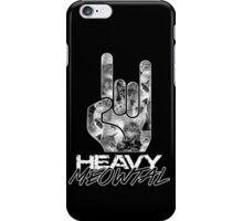 HEAVY MEOWTAL iPhone Case/Skin