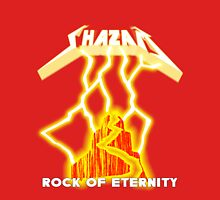 Shazam!  Rock of Eternity Womens Fitted T-Shirt