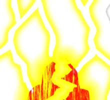 Shazam!  Rock of Eternity Sticker