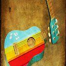 guitar case by Sonia de Macedo-Stewart