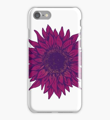 Purple flower iPhone Case/Skin