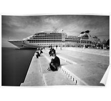 Zadar b&w VII Poster