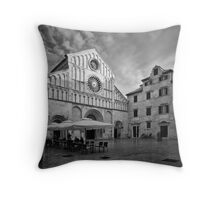 Zadar b&w IV Throw Pillow