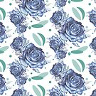 Rose pattern by Anthropolog