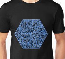 Blau Unisex T-Shirt