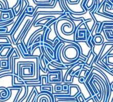 Blau Sticker