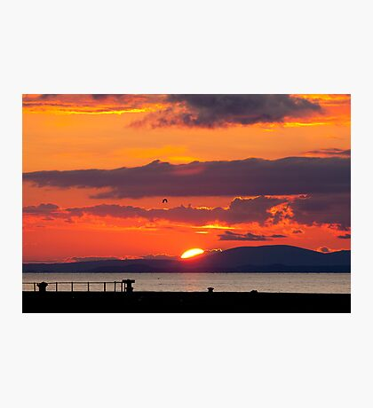 Whitehaven Sunset From North Pier Photographic Print