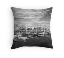 Zadar b&w Throw Pillow