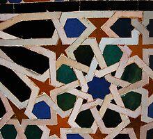 Alhambra tiles by Edel Montón Caño