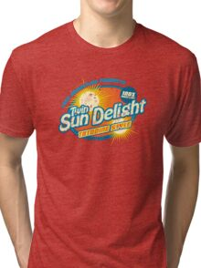 Twin Sun Delight Tri-blend T-Shirt