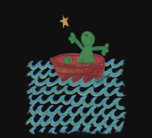 One Boat Each... (t-shirt / sticker) by Sammy Nuttall