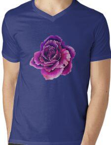 Flower Mens V-Neck T-Shirt