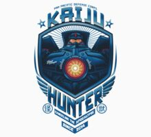 kaiju hunter Kids Tee